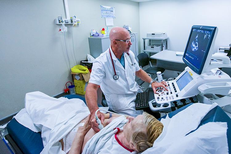Un centre cardiologie de pointe